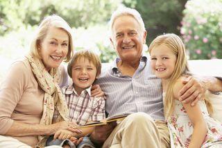 People - family - grandparents - grandchildren